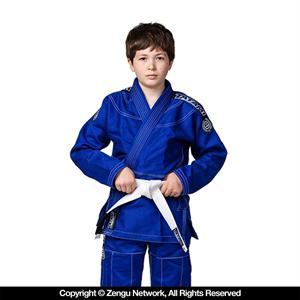 Tatami Blue Children's Jiu Jitsu Gi with Free White Belt
